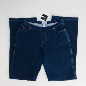 Pajama Jeans Dark Blue Boot Cut in S/M
